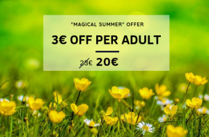 3€ off adult tickets